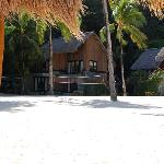 volleyball area & beach bungalows