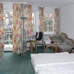 Unser komfortables, helles Zimmer vom Typ