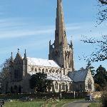 Snettisham church nearby - worth a visit!