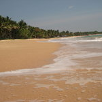 The beach outside Coconut Beach Cabanas. Beautiful.