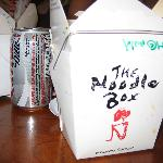 The Noodle Box - great food