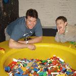 Lego Hotel Building tubs