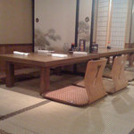 Tatami room seating
