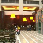 Lobby and Reception area-- in the back
