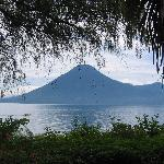 View of Lago de Atitlan from room