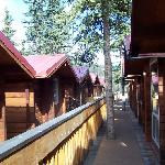 The Cabins as you navigate the pathways.