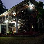Bungalow at night (generator on!)