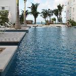 Pool looking toward beach