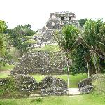 Mayan Temple near by