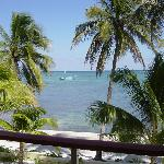 Caribbean view from one of our decks