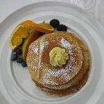 Buttermilk pancakes... so yummy!