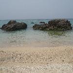 アリビラのすぐ隣のビーチ