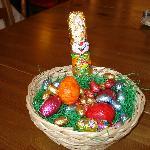 huevos de pascua en zonas comunes