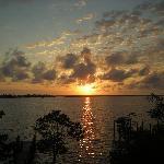 Sundown (view from balcony)