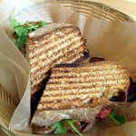 Fantastic Applewood BLT on grilled wheat bread.