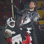 Our Knight - the winner for the evening!