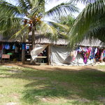 Hut market in Port Villa - great for shopping!