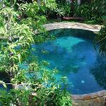 Nice pool design at Tamukami