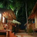 Om Sai Beach Huts Foto