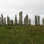 Our view of Callanish stone formation with no people in the picture.