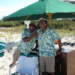 Eduardo & Adrian the friendliest beach staff ever!