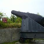 Huge cannon at the fort.