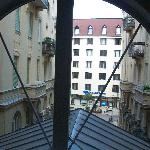View from first floor window