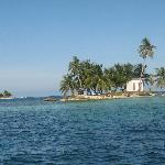 At the Silk Cayes, just a quick boat ride from Placencia