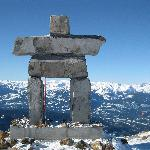 View from Whistler Peak