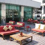 Club Lounge terrace