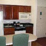 Kitchen in King Suite
