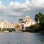The Main Building from across the Lagoon