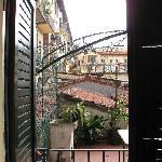 La chambre donnant sur la terrasse