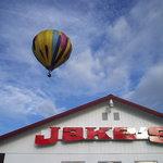 Baloon over Jake's