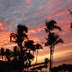 Lahaina sunrise - view from lanai