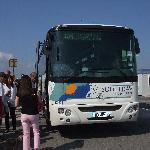 Taking the bus to St.Tropez