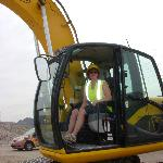 Me in the Excavator