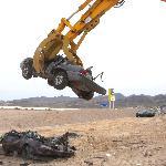 stacking & crushing cars