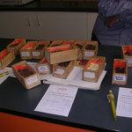 Chocolate samples