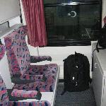 寝台車の個室