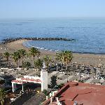 Beach/Promenade/Atlantic from balcony