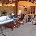 Master suite living area!