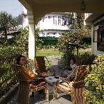 Garden with terrace