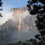 The Powerful, highest water fall in the world: Salto el Angel. Venezuela.