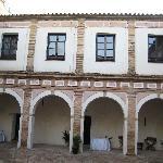 Courtyard upper level