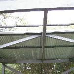 BBQ area roof - or lack of