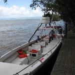 Our tour boat