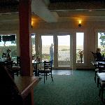 view from the bar/lobby