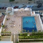 piscine de l'hotel Sonata de Iracema