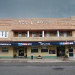 Royal Hotel from the front